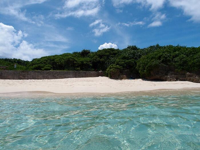 ビーチダイビングメインの宮古島ダイビングドロップ