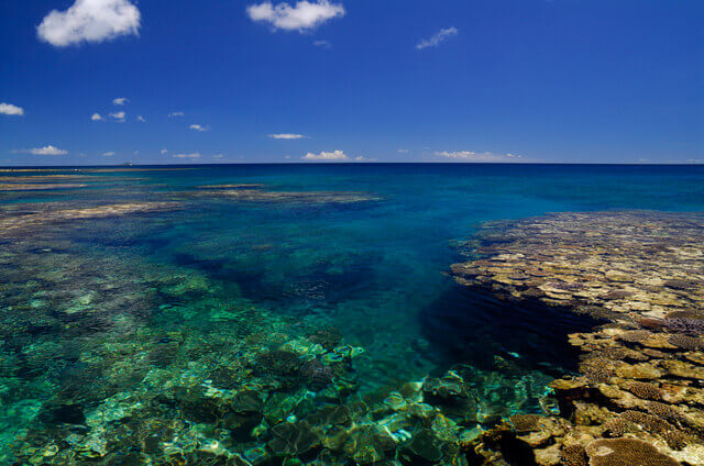 シーズンの干潮時に幻の島が出現する