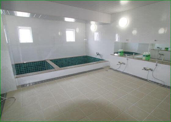 オアシティ共和の大浴場